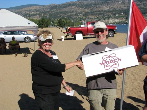 Whites Metal Detector Winner - Ron Sharer