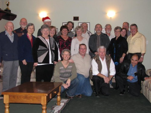 Christmas Party 2014 Members