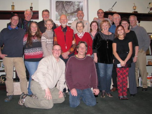 Christmas Party 2015 Members