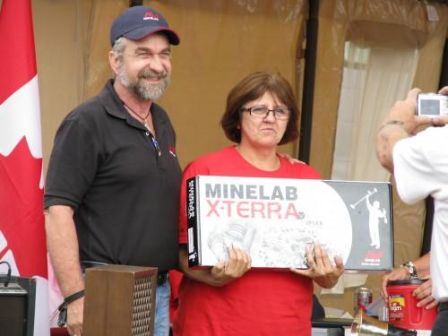 Minelab Xterra 705 Detector Winner -  Roberta Freebody