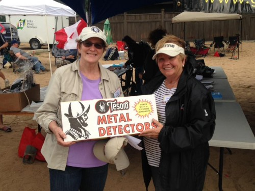 Tesoro Cibola Detector Winner - Keli Graves
