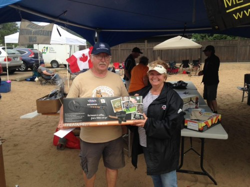 White's Treasure Pro Detector Winner - Ken Kilborn